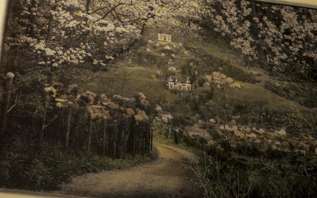 kolorovanie fotiek Pohľadnice zo Štiavnice
